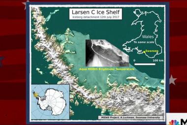 ICYMI: A Delaware sized iceberg
