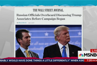 Trump Russia timeline seen spring 2015: WSJ