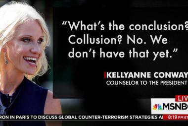 Chris Hayes: Why Kellyanne Conway said 'yet'