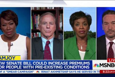 Senate healthcare bill derided for Cruz...