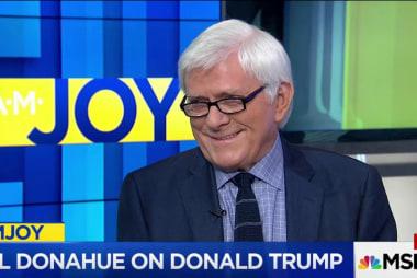 Phil Donahue calls Trump era 'darkest...
