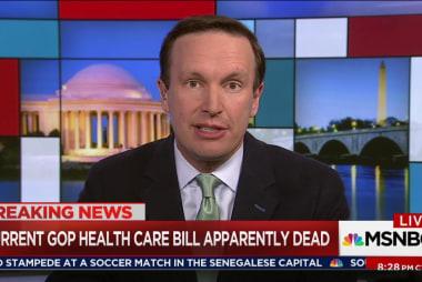 Murphy: GOP health bill a 'train wreck'