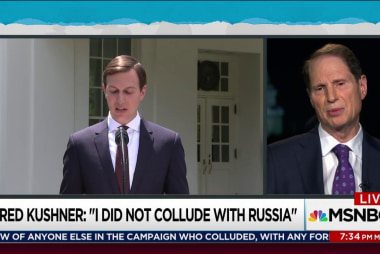 Sen Wyden on what Jared Kushner didn't say