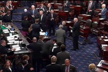 John McCain Receives Standing Ovation...