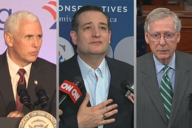 GOP, White House plot 'urgent blitz' for...