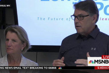 Rick Perry explains supply and demand,...