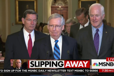 Senate health care bill seems to be losing...