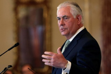 Tillerson: Trump Opened Putin Meeting with...