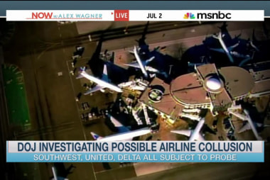 DOJ investigating possible airline collusion