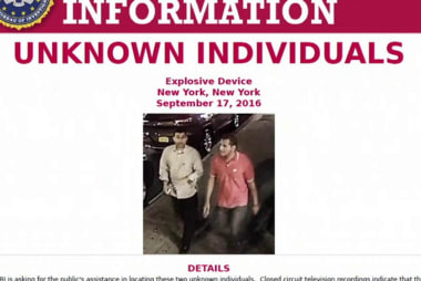 FBI investigating men who found suitcase
