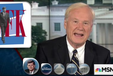 Matthews on JFK: He was reliably ready for...