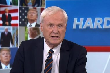Matthews: Trump is following the historic...
