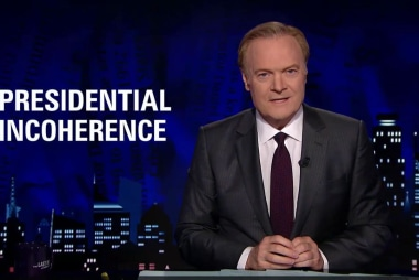 Lawrence: Trump's 'increasingly incoherent...