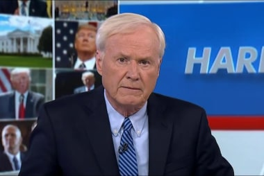 Matthews: Trump is trying to stop Mueller