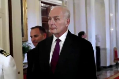 Gen. Kelly reportedly making changes...