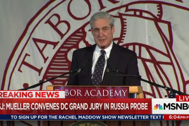 Mueller thinking ahead with DC grand jury