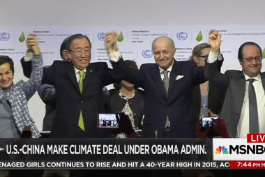 Missed climate goals a legacy of US politics
