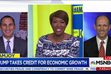 Trump takes credit for economic growth