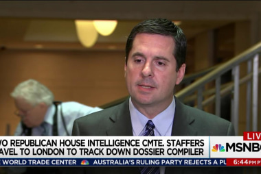Nunes aide behind secretive UK dossier trip