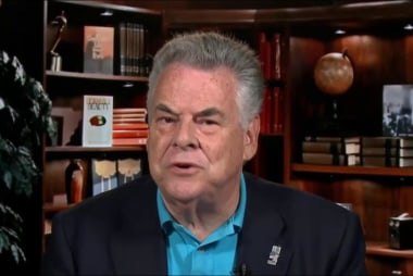 Peter King: I think Trump's rhetoric was...
