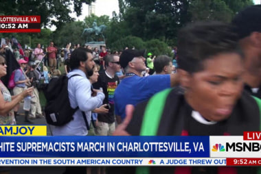 Pastor pulled to safety at Charlottesville...