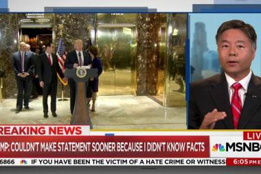 Lieu: Trump 'intentionally enabling white...
