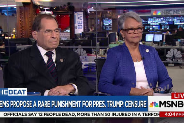 Dems propose a rare punishment for Trump:...