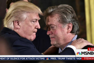 Bannon uniquely odd among odd Trump staffers