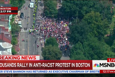 Boston counter-protests add Celtics player...