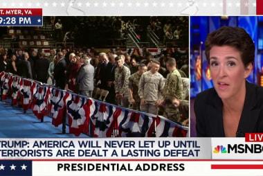 Maddow highlights Trump Afghanistan speech