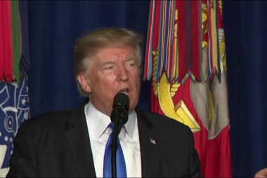 What is Trump's Afghanistan strategy?