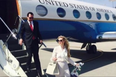 Louise Linton: 'Your life looks cute'