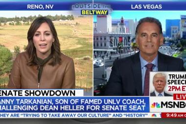 Sen. Heller's GOP challenger in Nevada is...