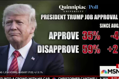 Majority think Trump doing more to divide...