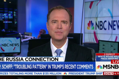 Schiff: Important claims in 'dossier'...