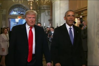 Why does Trump keep going after Obama?