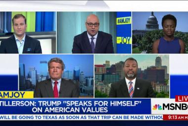 Tillerson: Trump 'speaks for himself' on...