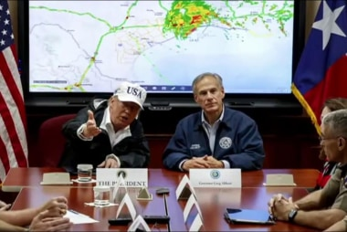 Trump's Texas trip had flaws, but showing...