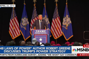 Strategic thinking expert: Trump doesn't...