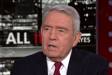 Dan Rather: Trump runs the risk of being...