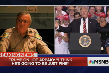 Trump hints he'll pardon convicted Sheriff...