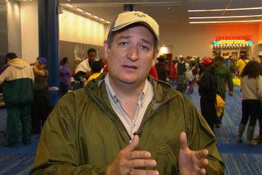 Cruz Explains Harvey Aid Request Despite...