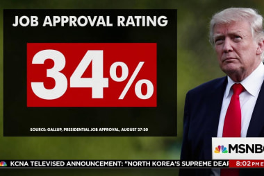Trump ends summer with record low approval...