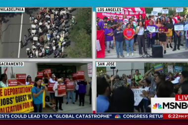 Trump DACA decision sparks nationwide protest