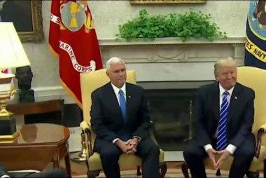Donald Trump Jr. Meets With Senate Staff...