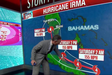 White House: Take Irma seriously, stay out...