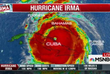 Hurricane Irma again a Category 5 storm as...