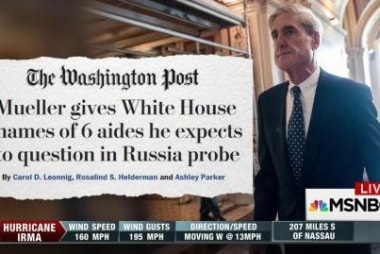 Bob Mueller reportedly wants to talk to...