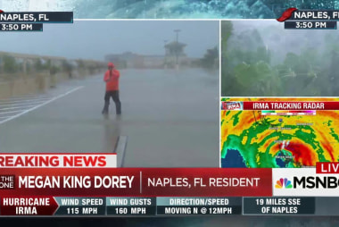 Naples, Florida resident endures Hurricane...