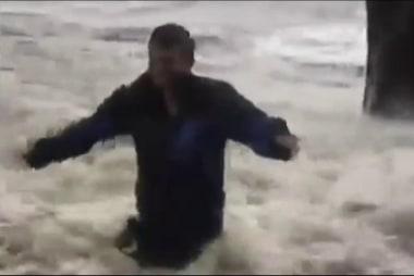 Jacksonville Resident Watching Water Rise...